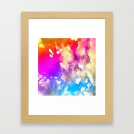 Big Secret Framed Art Print