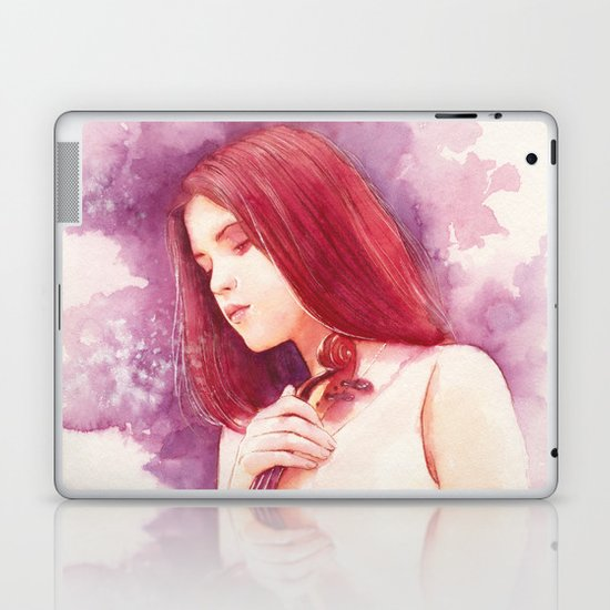 The sound of my heart Laptop & iPad Skin