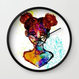 Color Xplosion Wall Clock