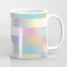 Colorful Gradient Stripes Strokes Pattern Coffee Mug