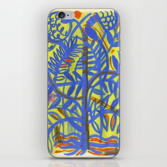 neon botanical iPhone & iPod Skin