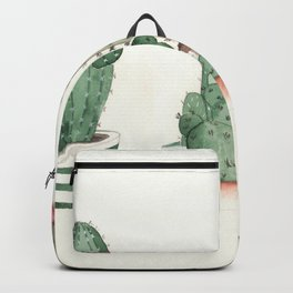 Cactus Grouping Flowering Cacti Backpack