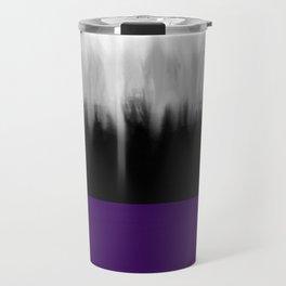 Asexuality Spectrum Flag Travel Mug
