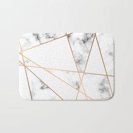 Marble Geometry 054 Bath Mat