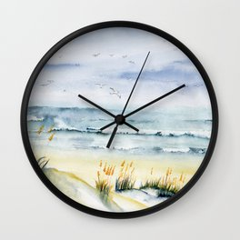 Beach is Calling Wall Clock