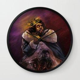 The King J Cole Wall Clock