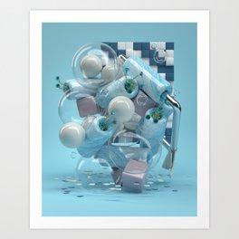 Rubberduck Art Print