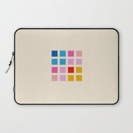 Retro Squares 01 Laptop Sleeve