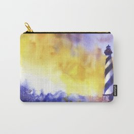 Cape Hatteras lighthouse- Outer Banks, North Carolina Carry-All Pouch