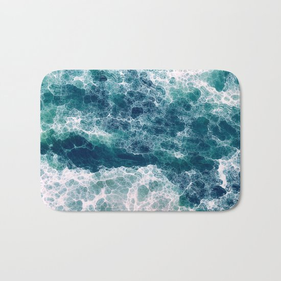 Sea foam Bath Mat