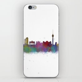 Berlin City Skyline HQ4 iPhone Skin