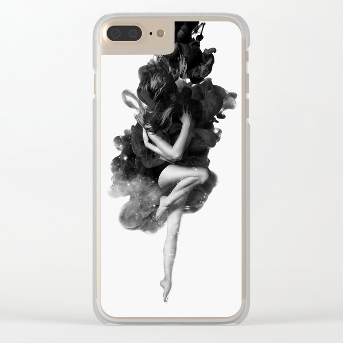 The born of the universe Clear iPhone Case