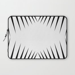 triangles with eyes Laptop Sleeve