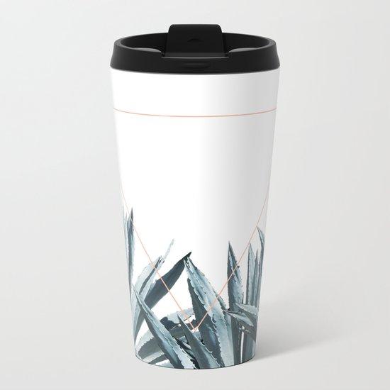 Agave Triangle Metal Travel Mug