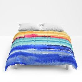 Sunset beauty Comforters