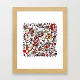 Druid from Sindidun Framed Art Print
