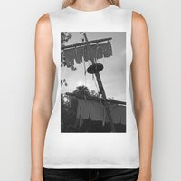 pirate ship Biker Tanks featuring Pirate Ship by Yellow Tie