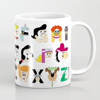 60s Mugs featuring Child of the 60s Alphabet by Mike Boon