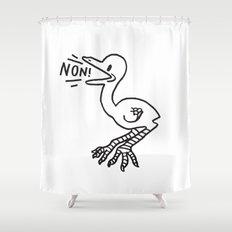 NON! Shower Curtain