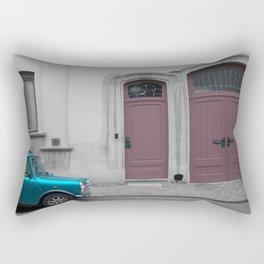 Green Mini Rectangular Pillow
