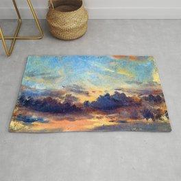 John Constable Cloud Study Rug