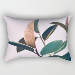 Ficus Elastica #4 Rectangular Pillow