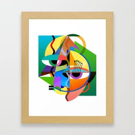 Picasso's Child Framed Art Print