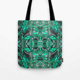 Abstract #8 - II - Mint Pop Tote Bag
