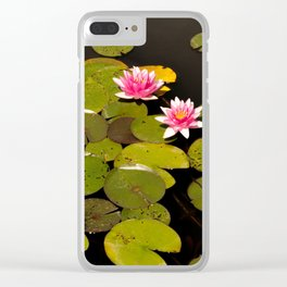 Nature in the lake Clear iPhone Case