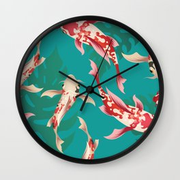 Mysterious coi Wall Clock