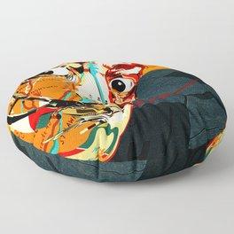 Salvador Dali Floor Pillow