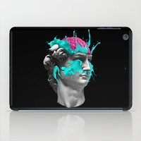 dave grohl iPad Cases featuring Dave Brain by CORSAC / Julien Missaire