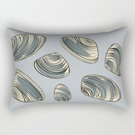 Oyster Shells Rectangular Pillow