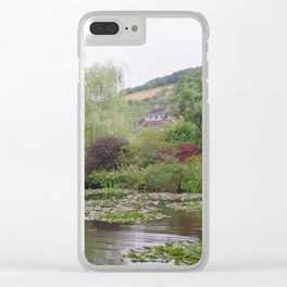 Water Garden Clear iPhone Case