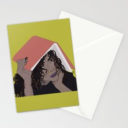 Book Worm Stationery Cards