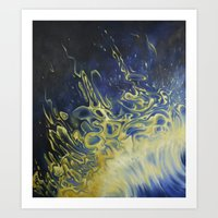 alchemy Art Prints featuring Alchemy by Jamie Raivo Artistic Impressions