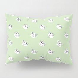 Derp Cat in Green Pillow Sham