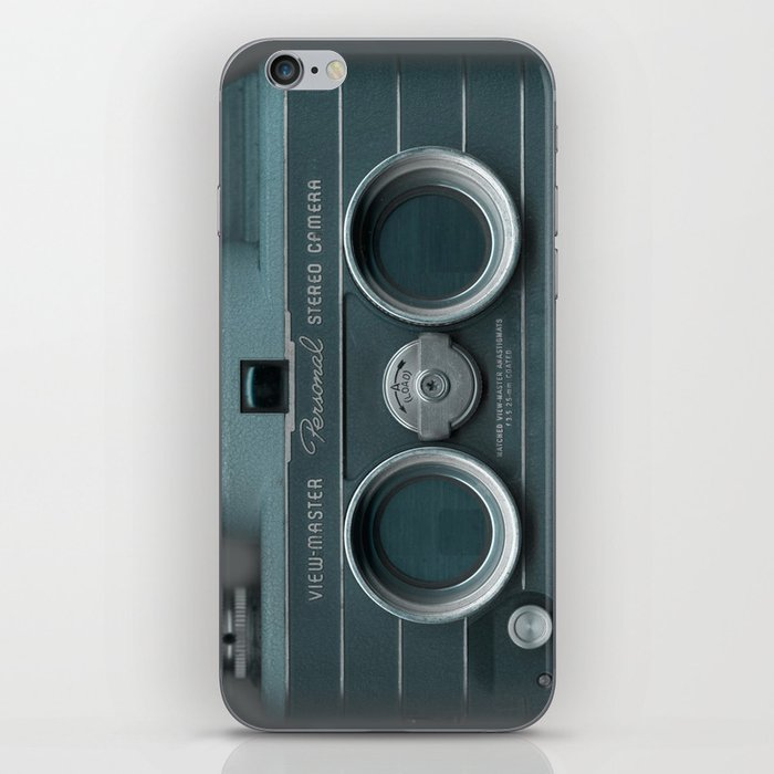 Camera Vintage Stereo  iPhone Skin