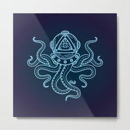 Octopus  Metal Print