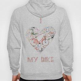 I Love My Bike Hoody