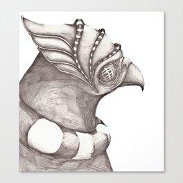 Birds from War II Canvas Print