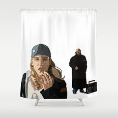 Jay and Silent Bob, Clerks 2 Shower Curtain
