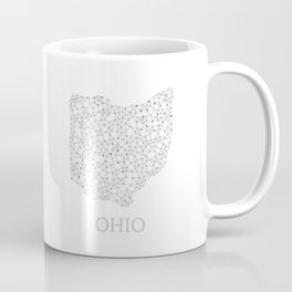 Ohio LineCity W Coffee Mug