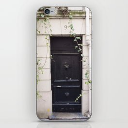 The Black Door at No. 9 iPhone Skin