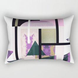 Geometric Metall Rectangular Pillow