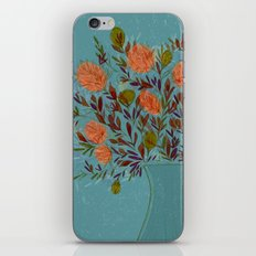 Blue Bouquet iPhone & iPod Skin