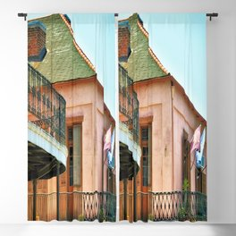 Flags on the Balcony Blackout Curtain