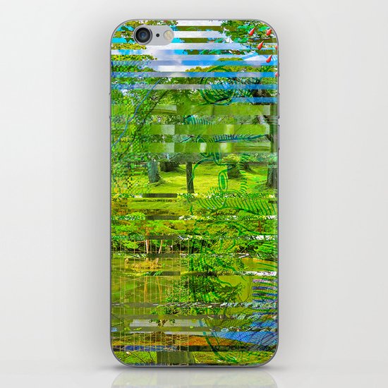 Landscape of My Heart (4 as 1) iPhone & iPod Skin