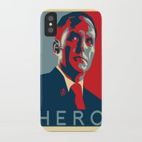 hero iPhone & iPod Cases featuring Hero by Skylofts Merch