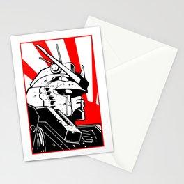 Gundam japan sun Stationery Cards